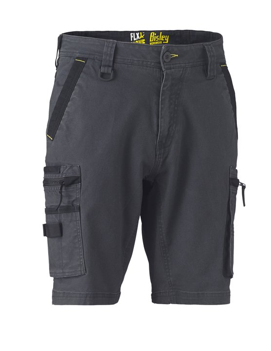 Bisley - FLEX & MOVE™ STRETCH UTILITY ZIP CARGO SHORT