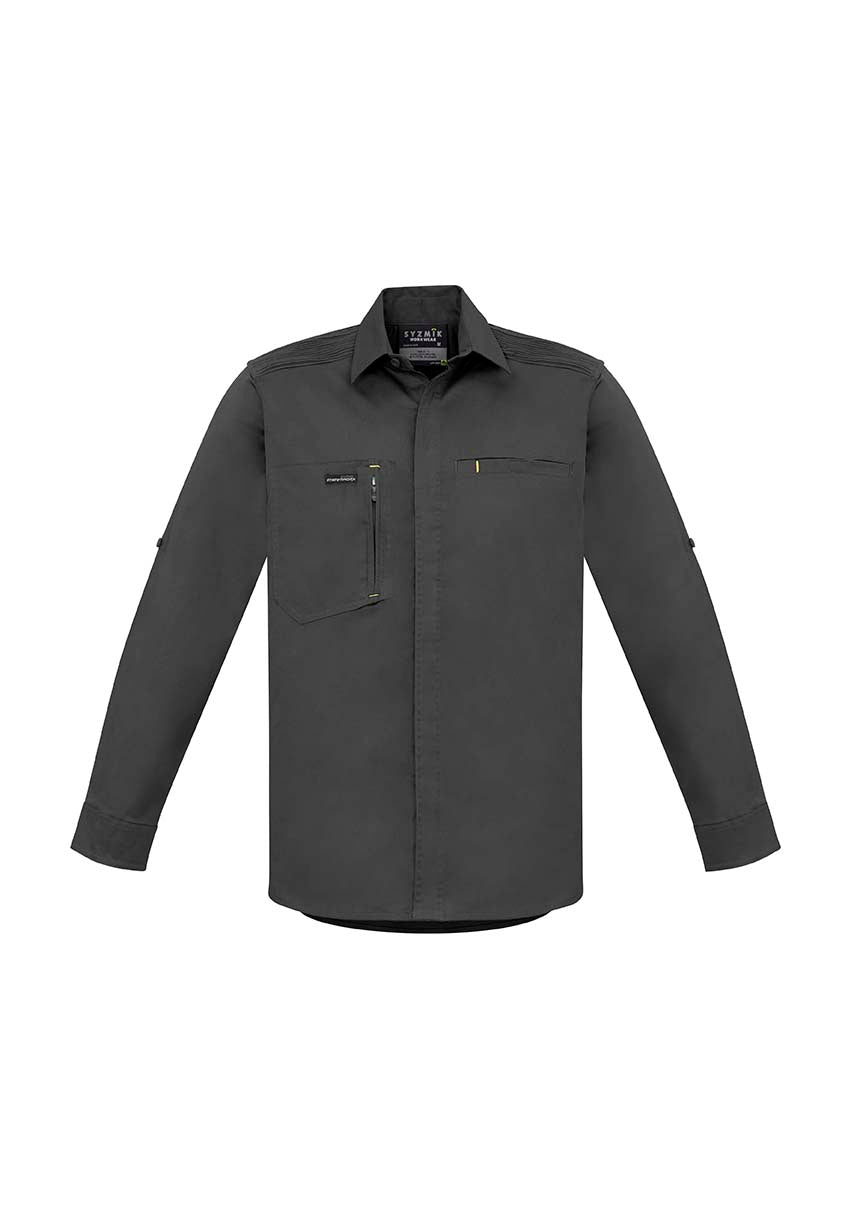 Syzmik - ZW350  Mens Streetworx Long Sleeve Stretch Shirt