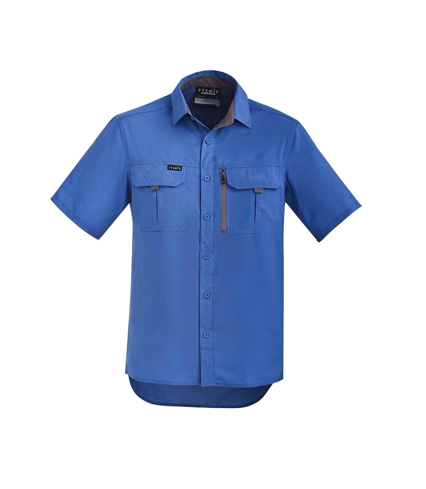 Syzmik - ZW465  Mens Outdoor Short Sleeve Shirt