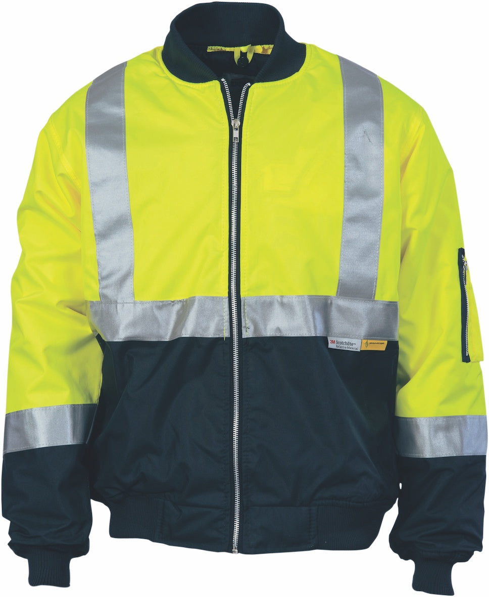 DNC -3862 Hi Vis  Water Proof Bomber Jacket with 3M Tape