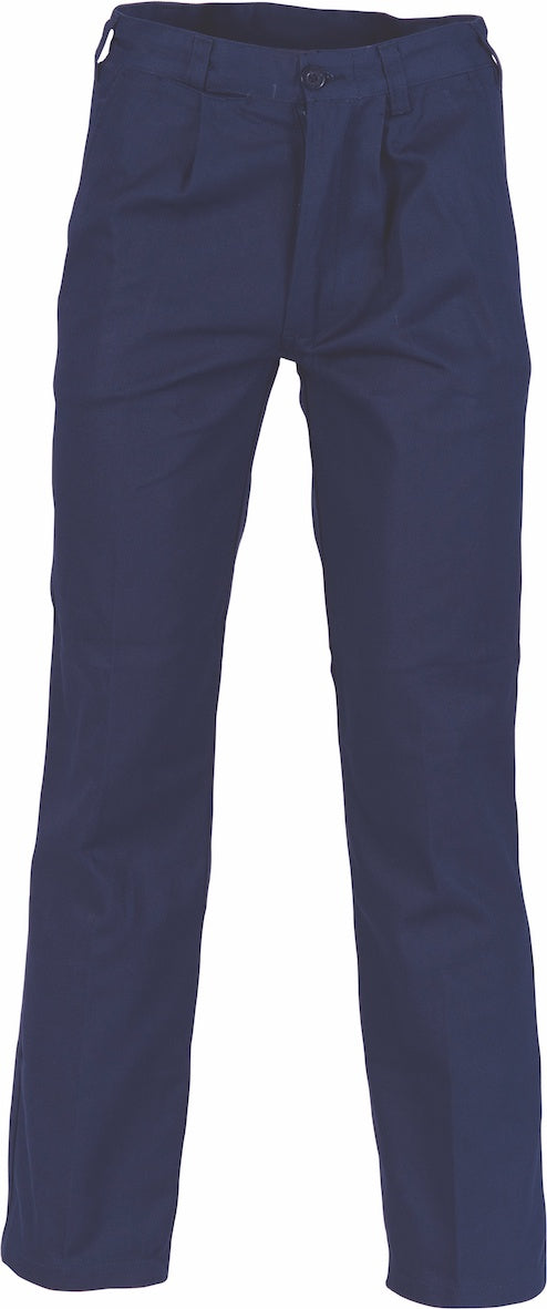 DNC - 3311 Heavy Weight Cotton Drill Pleat Front Work Pant