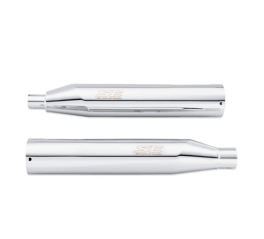 Screamin' Eagle Chrome Street Cannon Performance Slip-On Mufflers