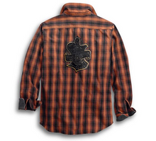 Load image into Gallery viewer, Oak Leaf Plaid Shirt