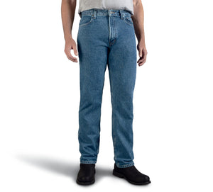 Original Traditional Fit Blue Jeans