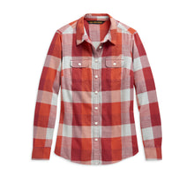 Load image into Gallery viewer, Vintage Eagle Plaid Shirt