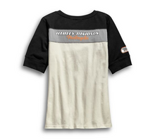 Load image into Gallery viewer, H-D Racing Short Sleeve Henley