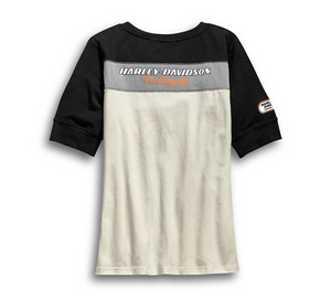 H-D Racing Short Sleeve Henley