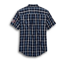 Load image into Gallery viewer, Multi-Patch Plaid Shirt