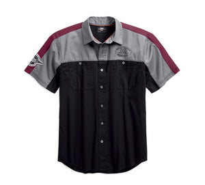 Performance Vented Winged Logo Shirt