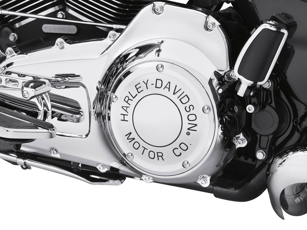 Harley Davidson Motor Co. Chrome Derby Cover