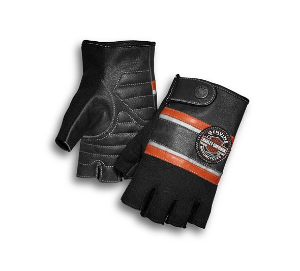 Mixed Media Fingerless Gloves with Coolcore™ Technology