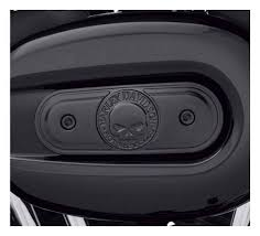 Willie G Skull Black Air Cleaner Cover