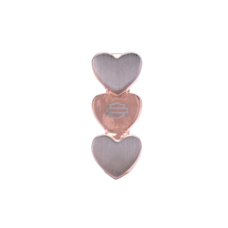 Bar & Shield Heart Totem Rally Charm