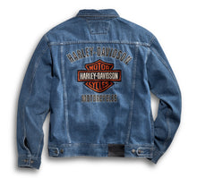 Load image into Gallery viewer, Bar & Shield Denim Jacket