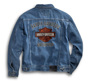 Bar & Shield Denim Jacket
