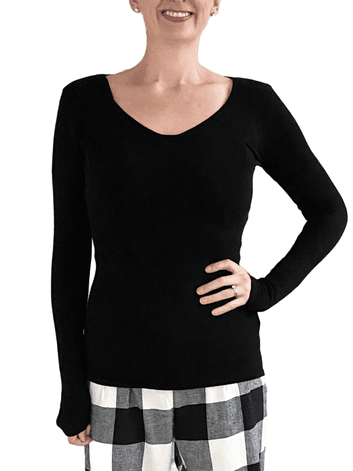 Essential Bamboo Long-Sleeved Top