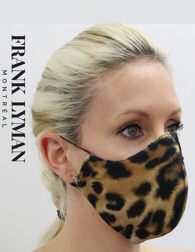 Frank Lyman Animal Print Mask