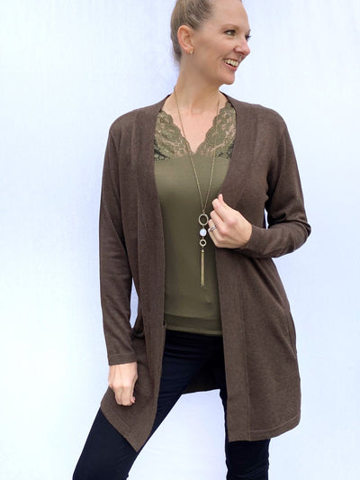 Elona Lacey Cami in Olive