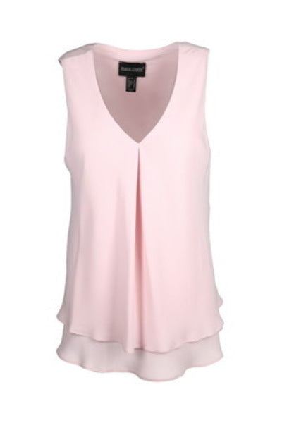 Frank Lyman Sleeveless Chiffon Overlay Top (61175-TSF21) More Colours!