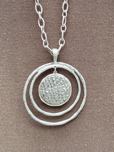 NECKLACE - Silver Saturn
