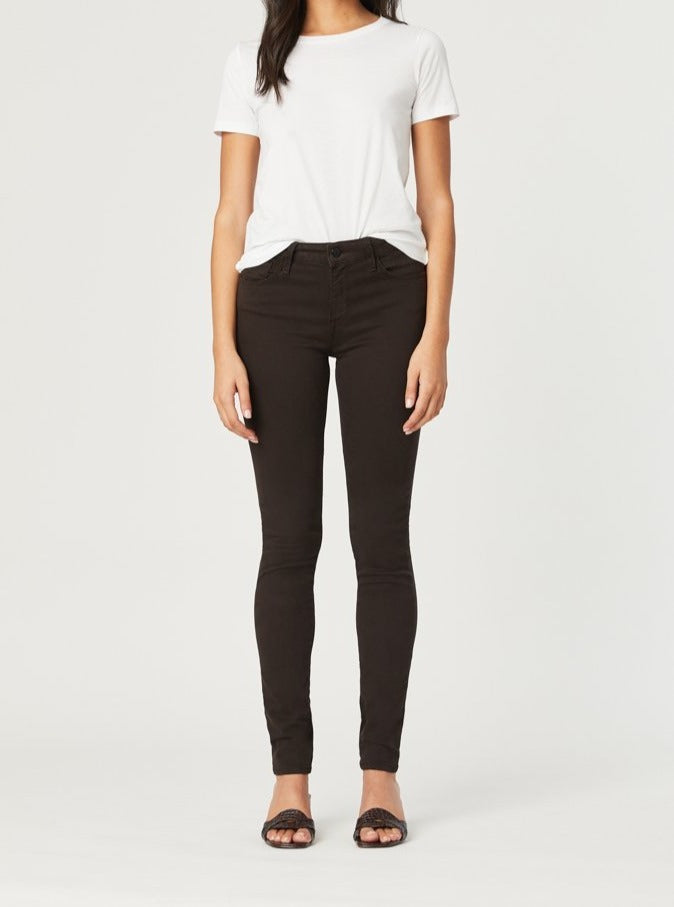 Mavi Alissa - High Rise Skinny in Brushed Cotton