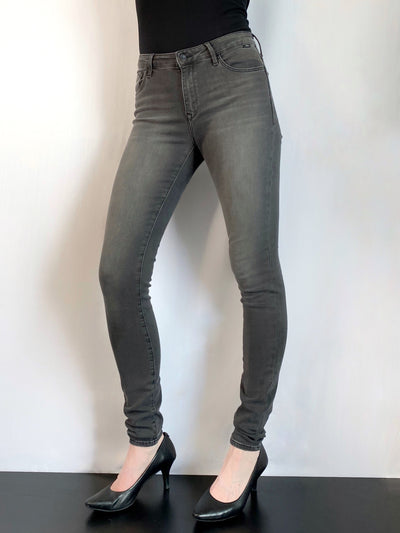 Mavi Alissa - High Rise Skinny Jeans in Grey