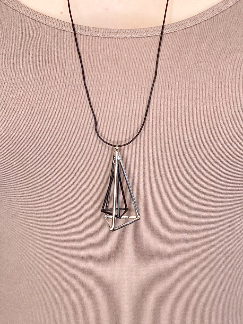 NECKLACE - Dimensional Triangles