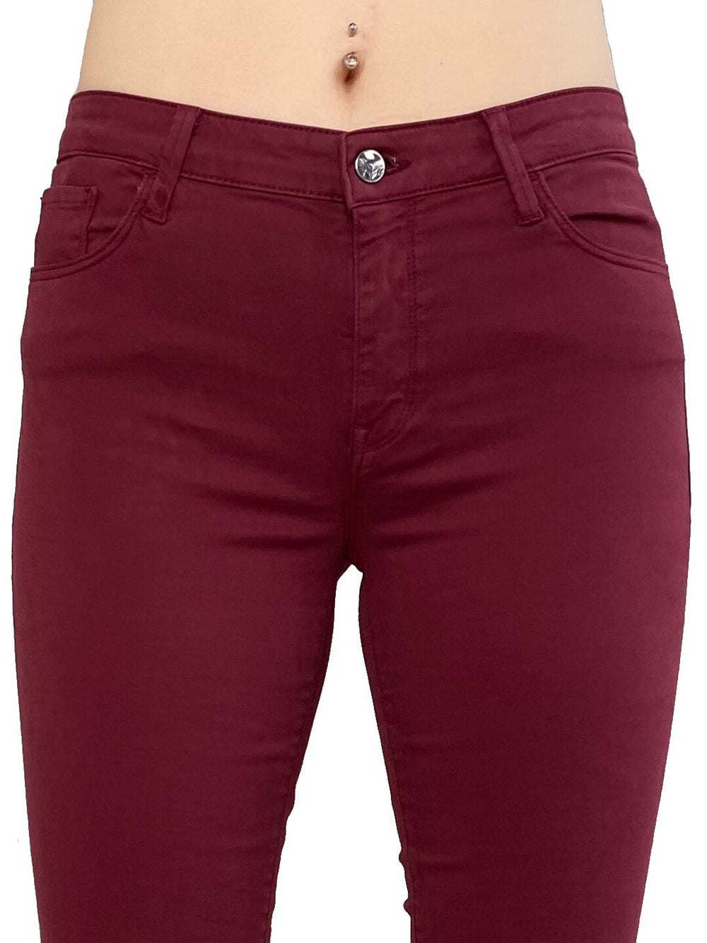 Mavi Alissa - Curvy High Rise Skinny in Bordeaux Twill