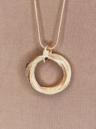 NECKLACE - Multi-Gold Circles