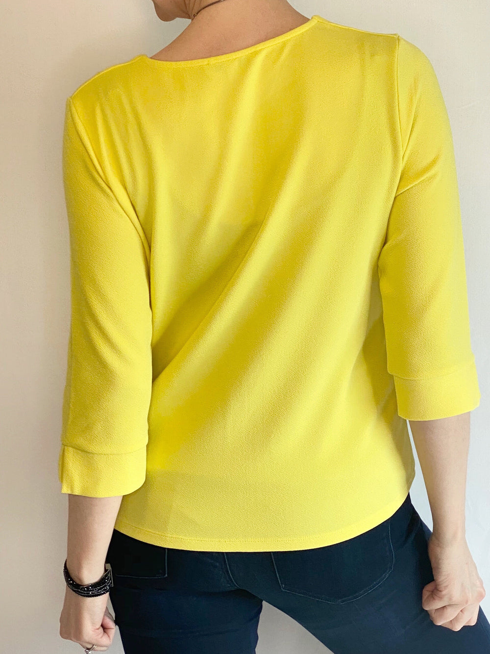 3/4 Sleeve Limelight Top