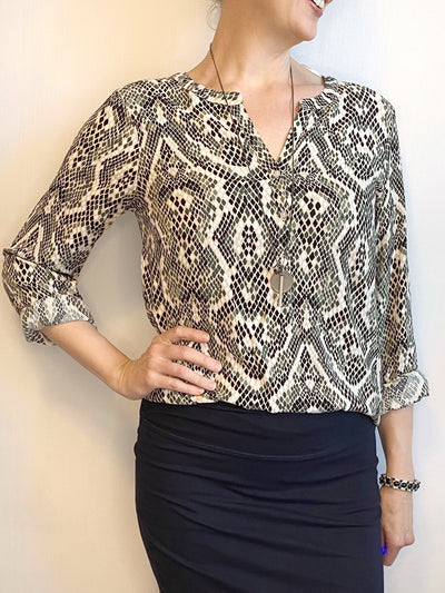 Soyaconcept Animal Print Blouse