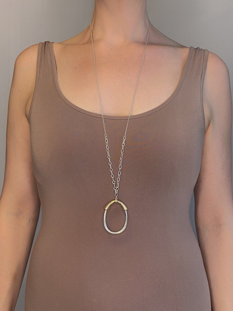 NECKLACE - Looped Wires