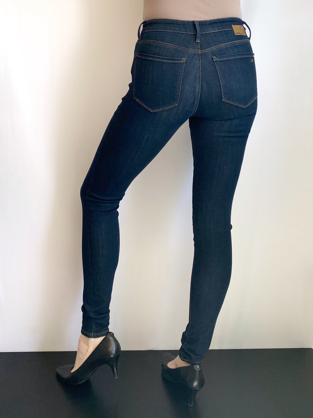 Mavi Tess - High Rise Skinny in Deep Supersoft