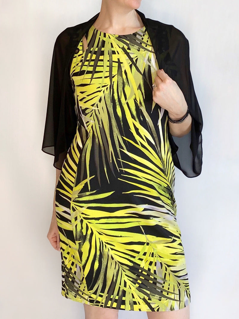 Frank Lyman Fern Print Shift Dress