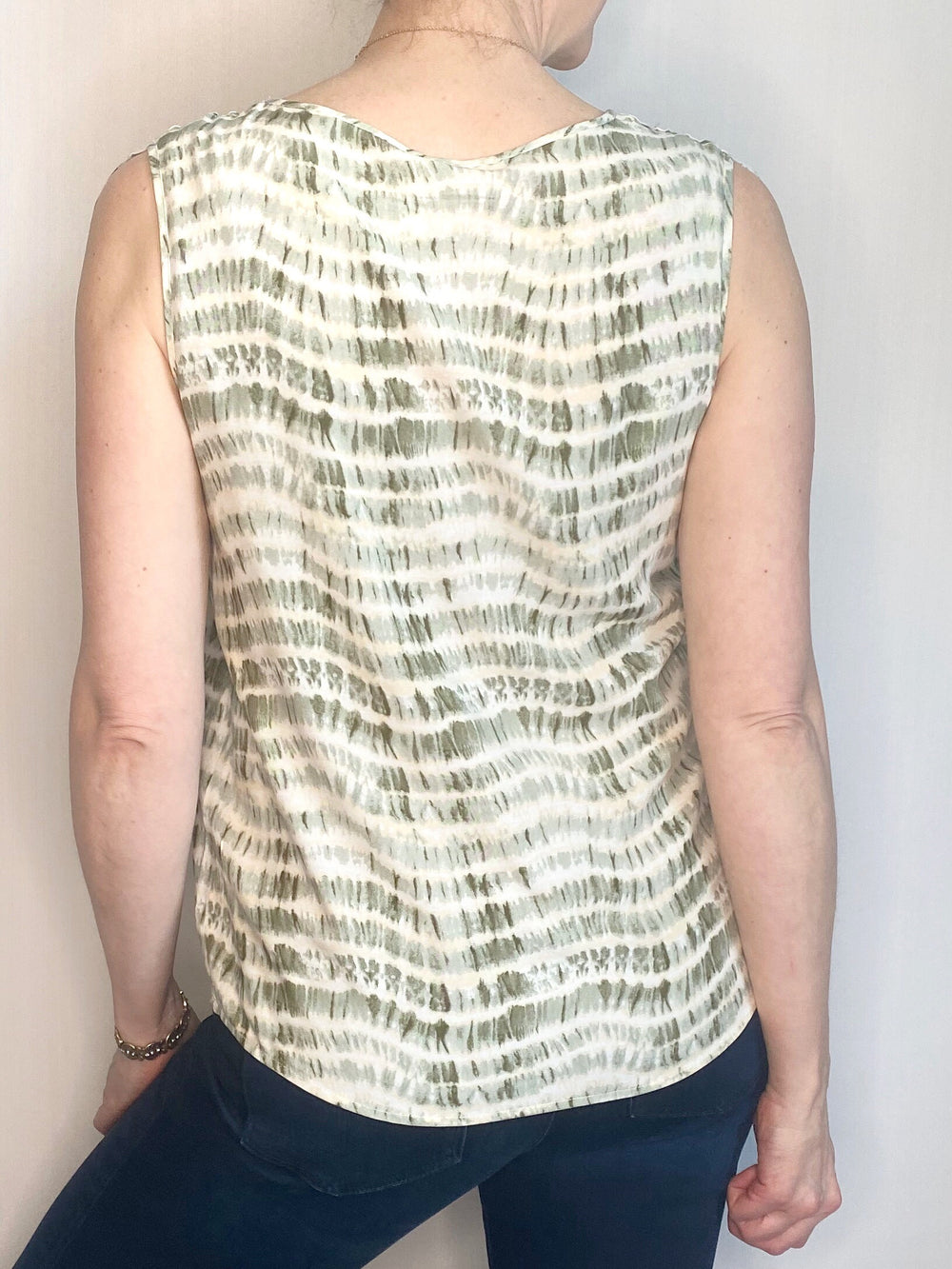 Soyaconcept Tie Dyed Sleeveless Top