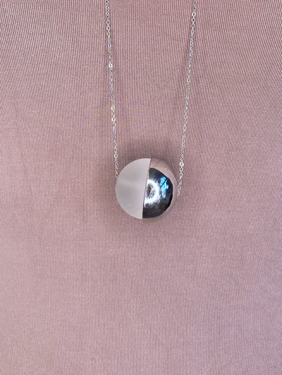 NECKLACE: Crystal Ball Charm