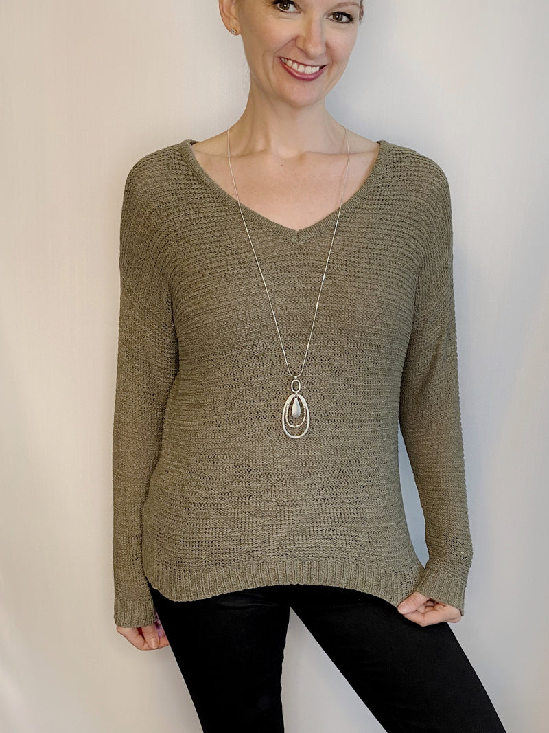 Soyaconcept Open Knit Sweater