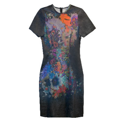 CuRious by Cynthia Rowley Hourglass Floral Dress