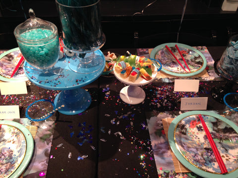 Candy sushi table