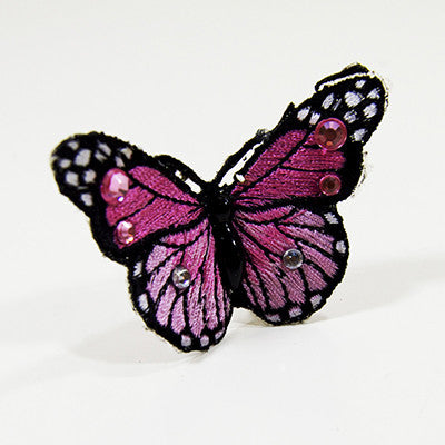 Floating Butterfly rings