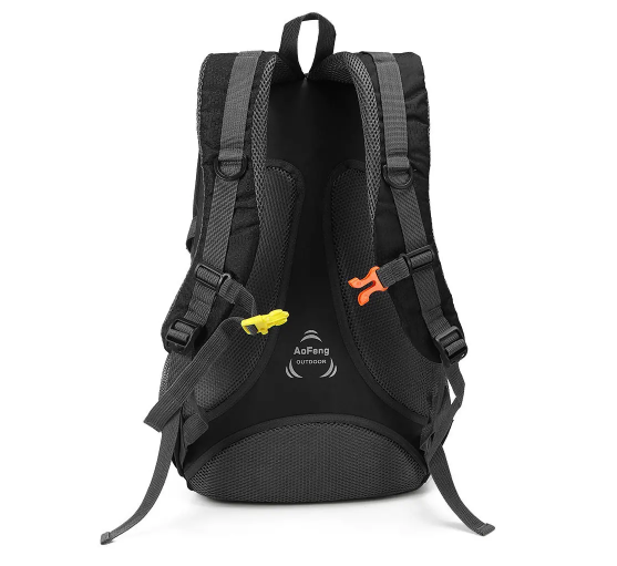 XMund Waterproof Nylon 40L Sports Travel Hiking Backpack