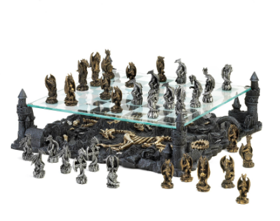 Dragon Kingdom Chess Board Set