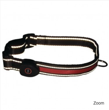 LED Dog Collars S/M/L