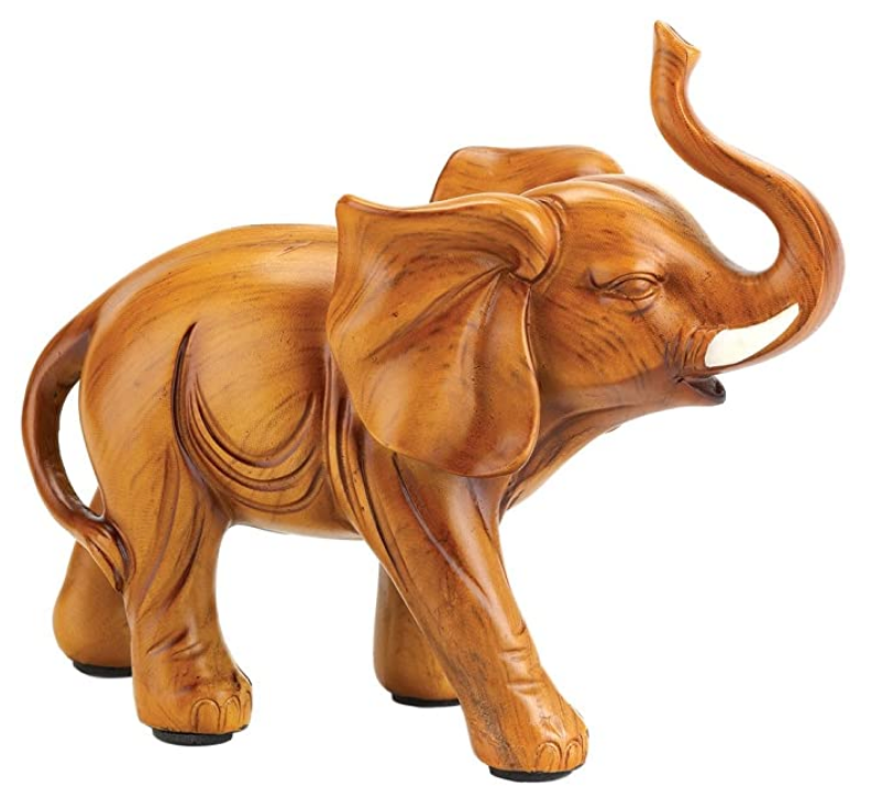 Lucky Elephant Feng Shui Home Decor Figurine