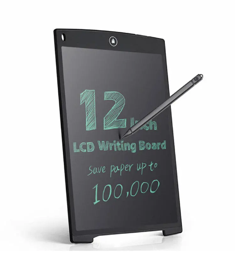 LCD 12' Drawing tablet with Smart Pen, Colourful Writing Board Great for Children and Adults