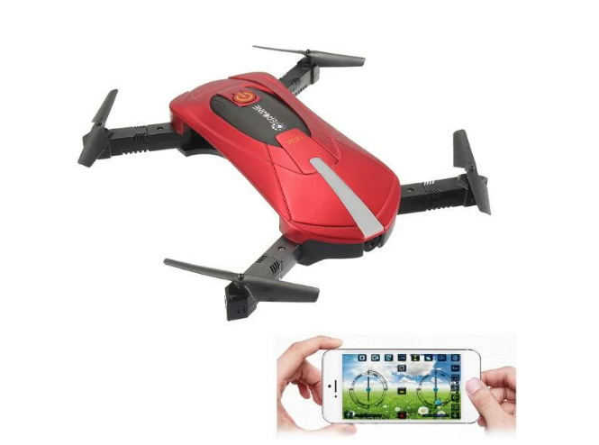 Eachine E52 WiFi FPV Selfie Drone RC Quadcopter RTF with High Hold Mode Foldable Arm