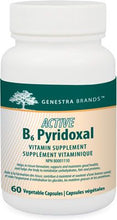 Load image into Gallery viewer, Genestra Active B6 Pyridoxal 60 Capsules