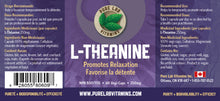 Load image into Gallery viewer, Pure Lab L-Theanine 250mg 60 Capsules