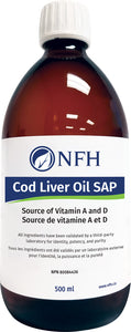 NFH Cod Liver Oil SAP 500ml