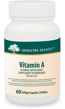 Genestra Vitamin A 60 Softgels